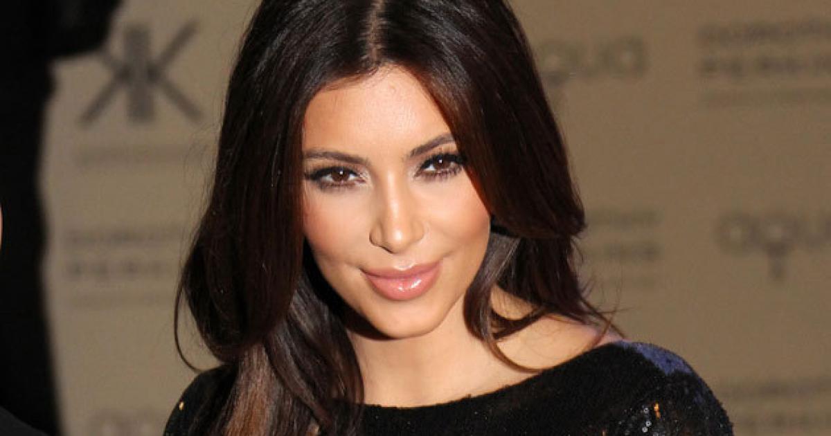 Kim Kardashian Nuda su Instagram