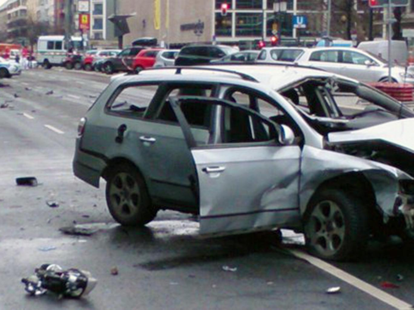 Berlino: Auto Esplode a Charlottenburg: Terrorismo?