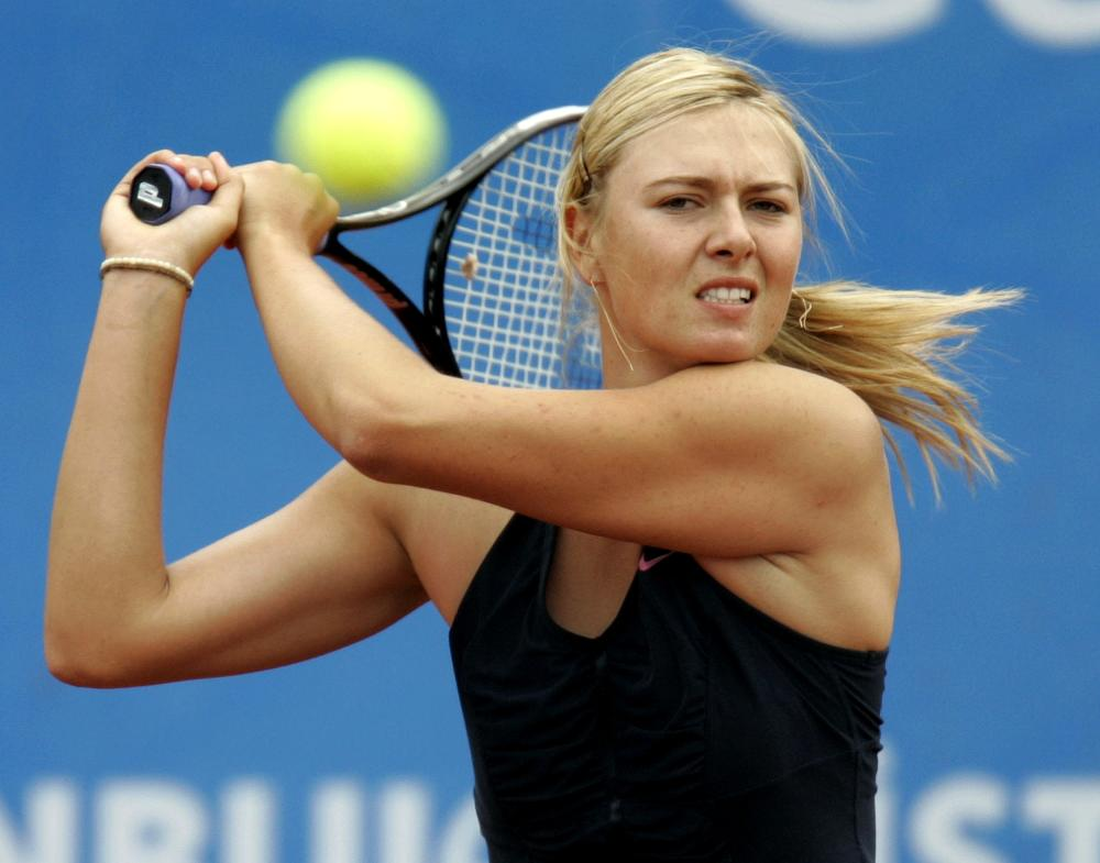 Tennis, Sharapova Ha Assunto Sostanze Dopanti