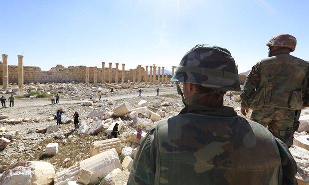 Isis: scoperta fossa comune a Palmira