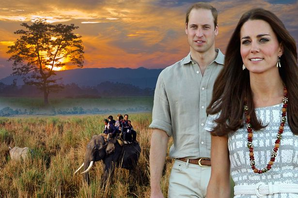 Kate e William in India per una settimana