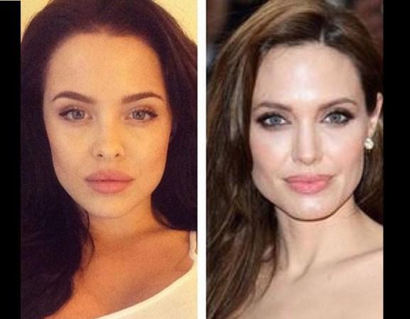 Sosia Angelina Jolie è Mara J. Teigen