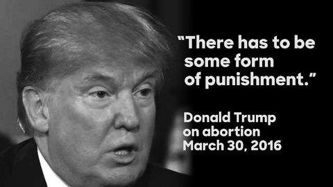 Usa, Trump contro aborto