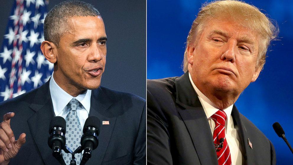 Obama vs Donald Trump