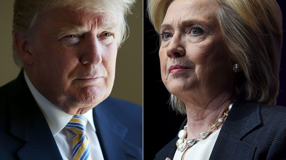 Donald Trump vs Hillary Clinton favourite