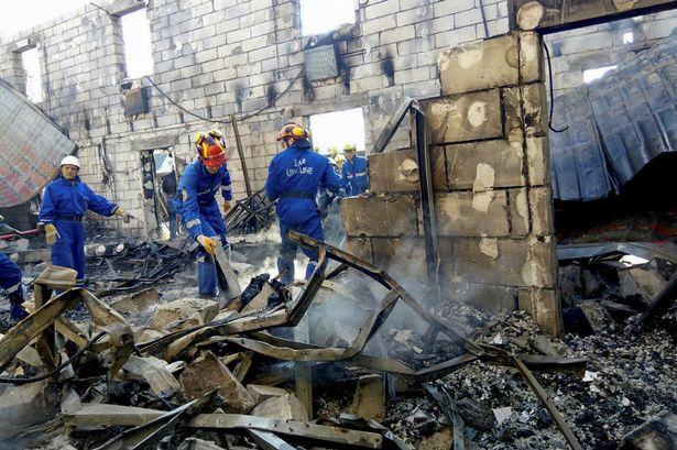 Kiev, incendio in casa di riposo