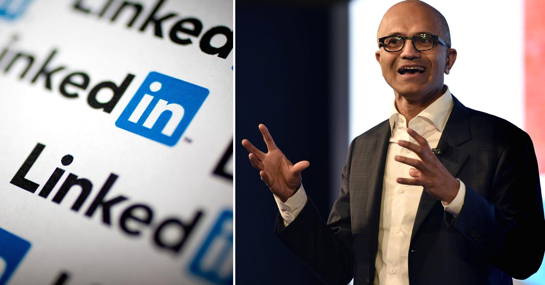 LinkedIn cede a Microsoft