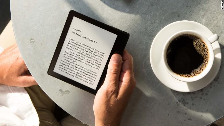 Amazon Kindle nuovo design e batteria potente
