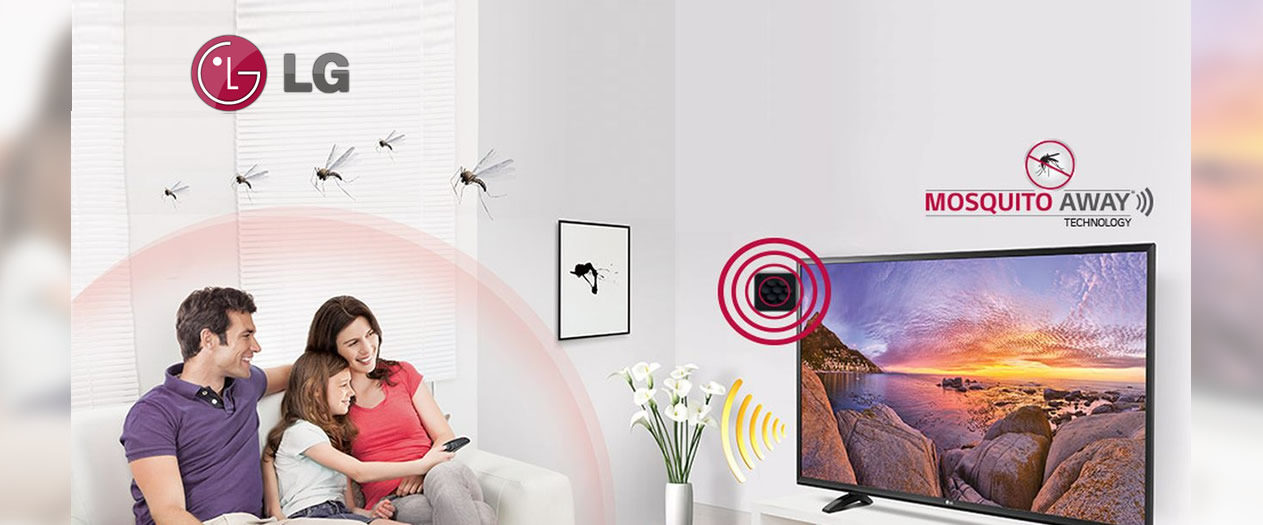 Mosquito Away Tv: prima televisione anti-zanzare
