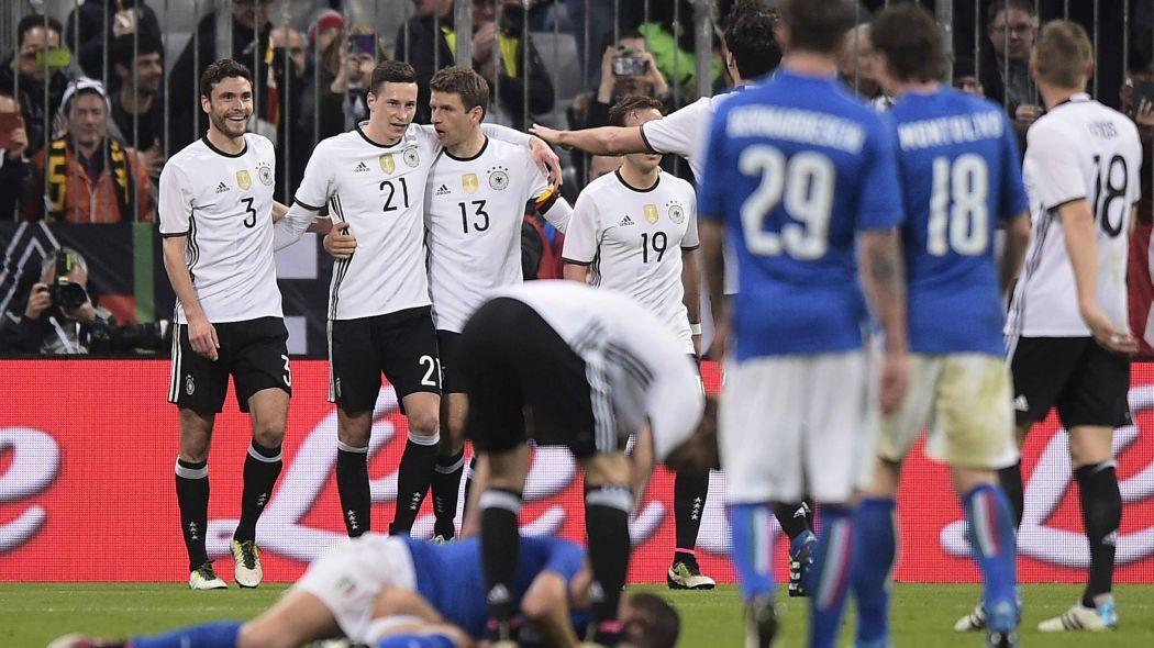 Euro 2016: Italia sconfitta dalla Germania
