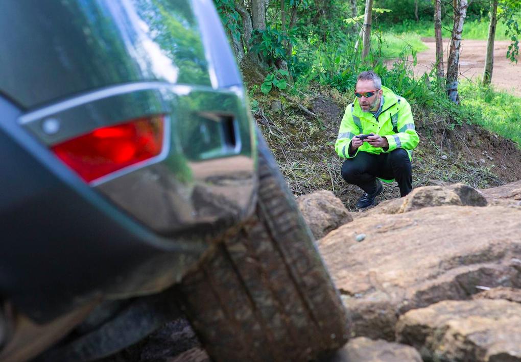 Guida autonoma offroad: Land Rover prova
