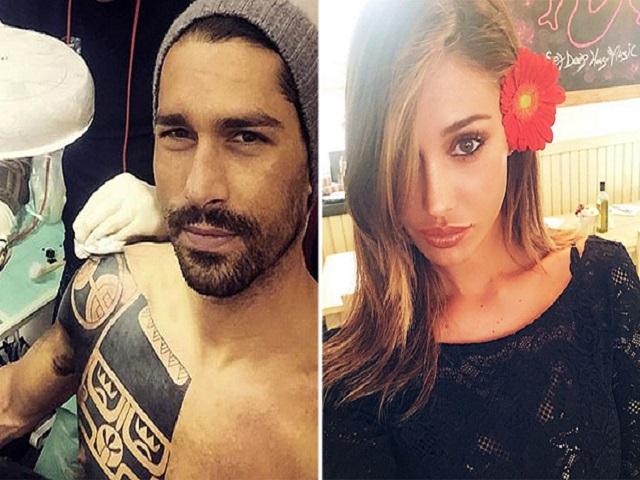 Belen Rodriguez a Ibiza: flirt con Borriello?