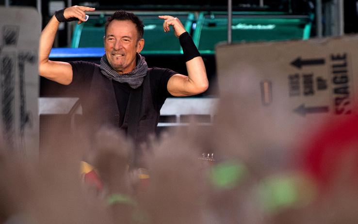 Bruce Springsteen elettrizza Circo Massimo
