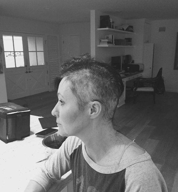 Shannen Doherty combatte contro cancro
