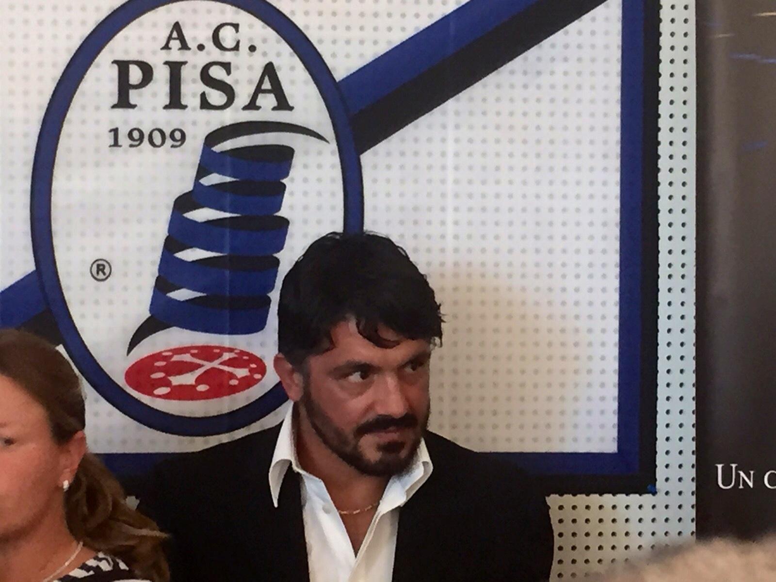 Gennaro Gattuso: addio al Pisa Calcio