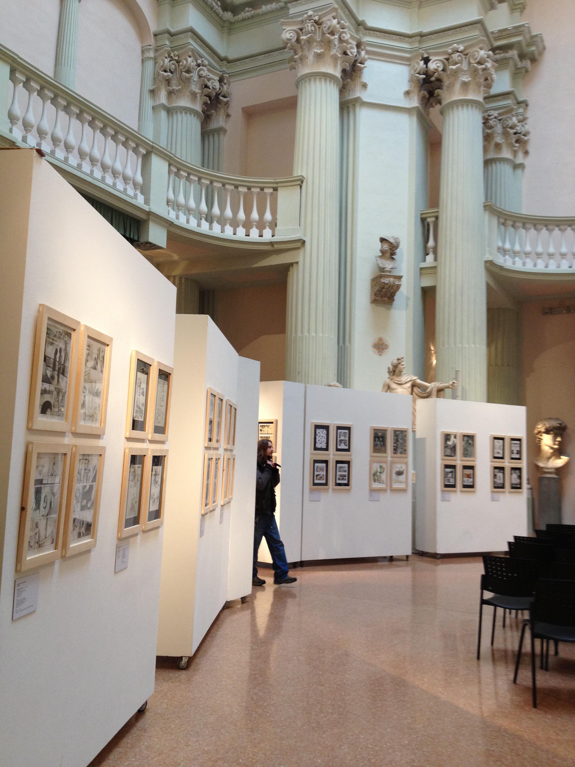 Bologna, usato va di moda all'Accademia delle Belle Arti