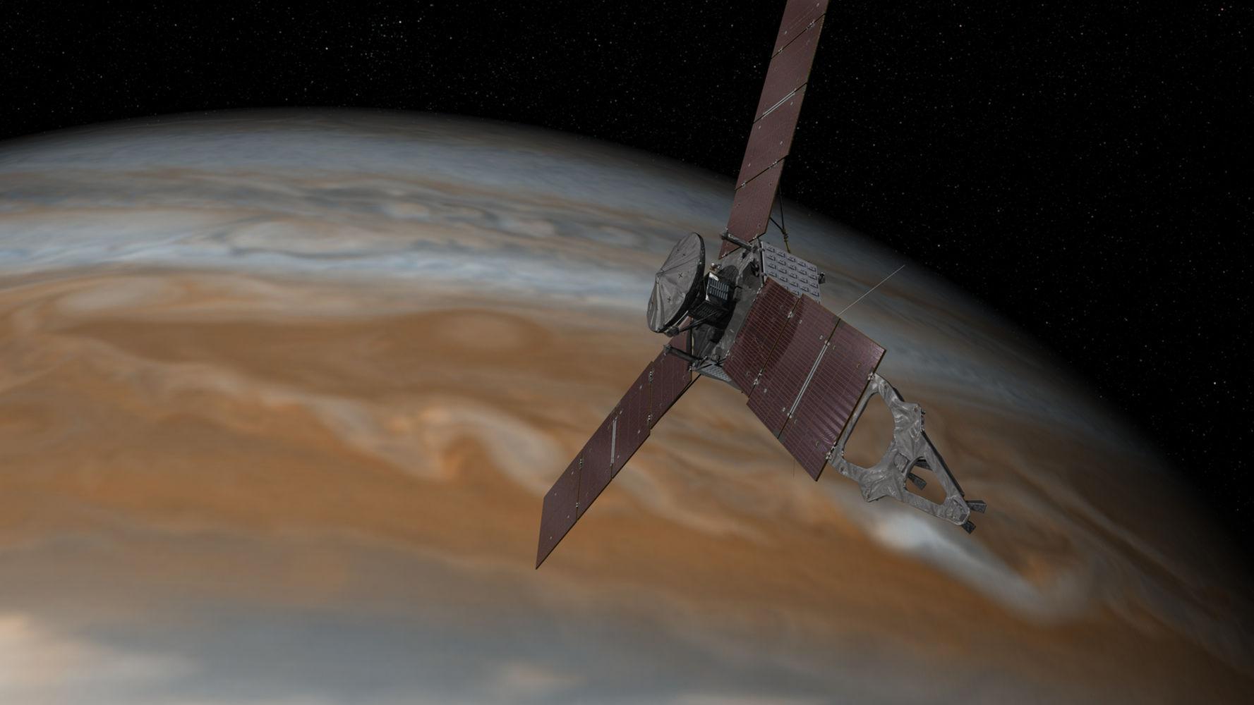 Juno arriva su Giove