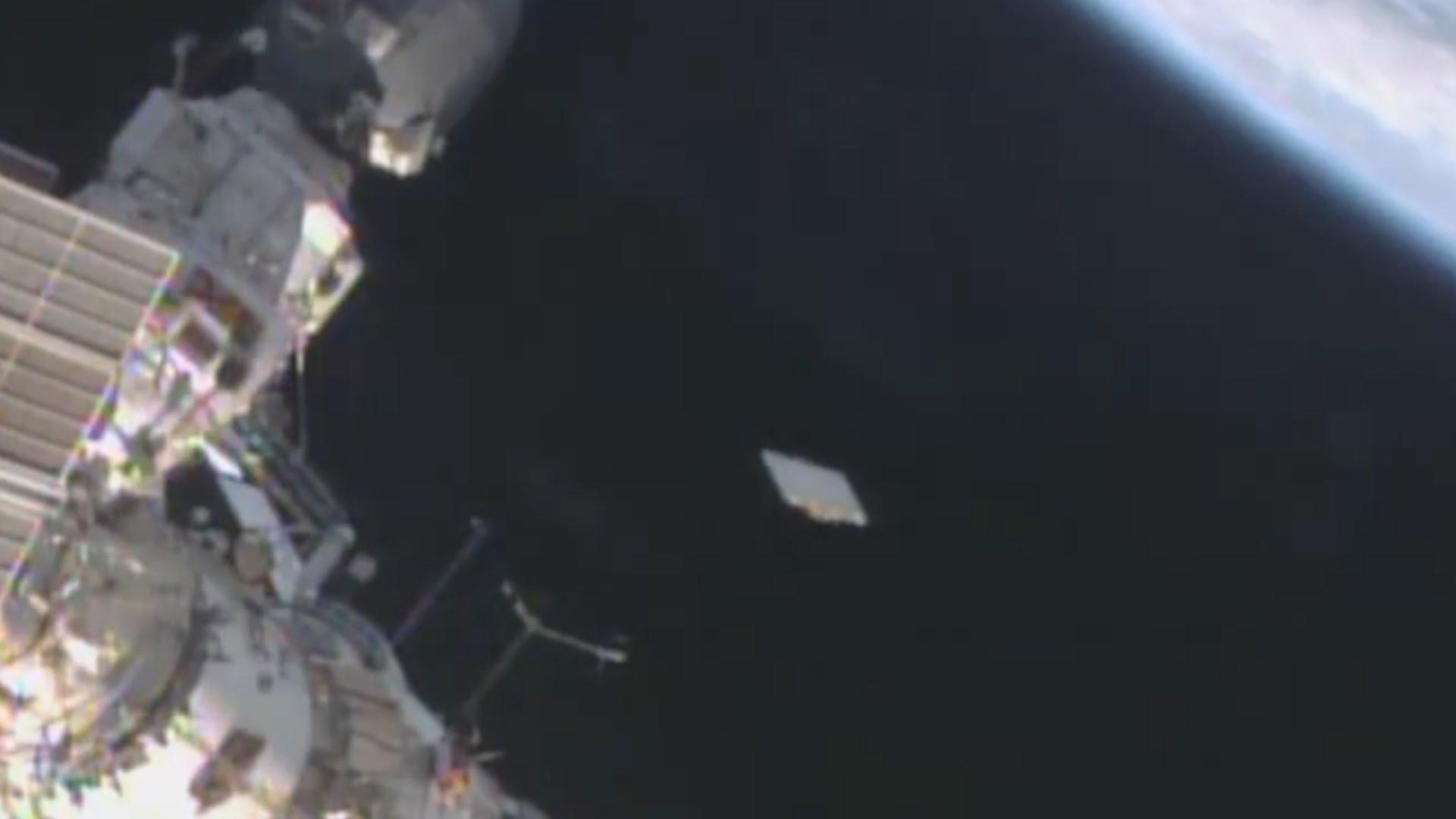 Ufo immortalato da telecamera sulla ISS?