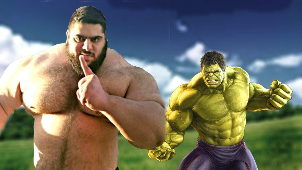 Sajad Gharibi: Hulk contro Isis