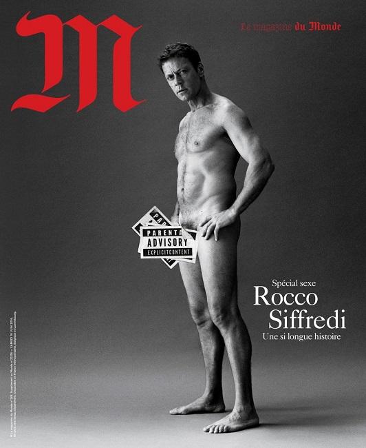 Francia, foto choc Rocco Siffredi su Le Monde