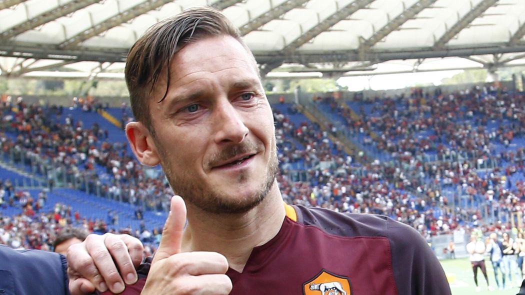 La Roma riceve una lettera d'amore da Francesco Totti