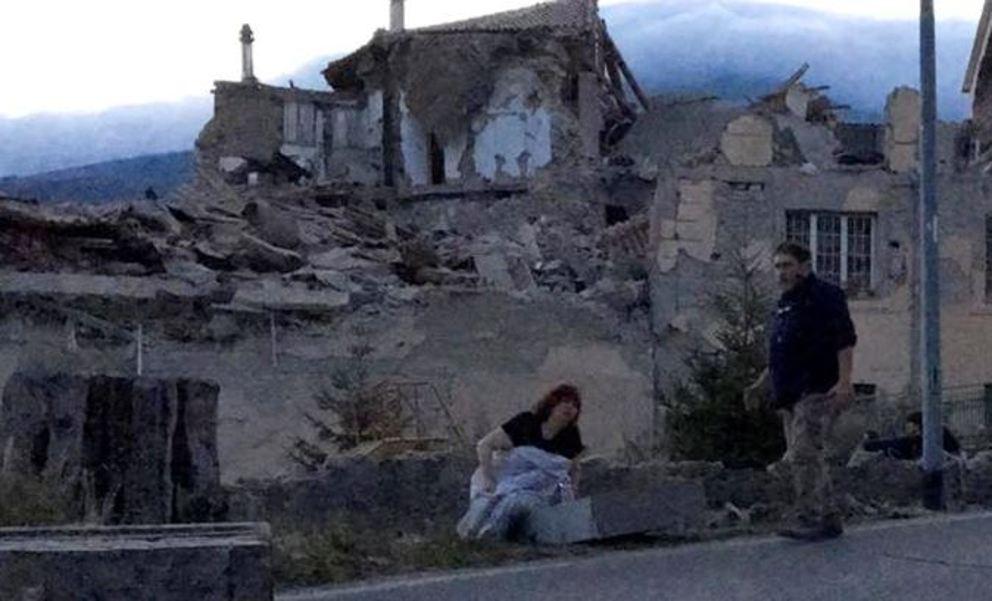 Scossa sismica nel Centro Italia provoca danni e morti