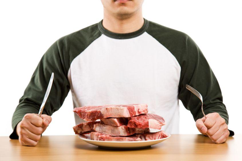 Carne fa aumentare di peso