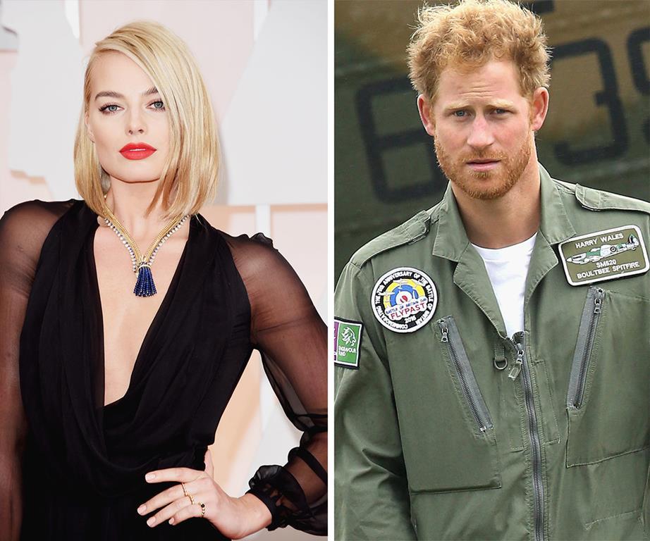 Margot Robbie conquista principe Harry