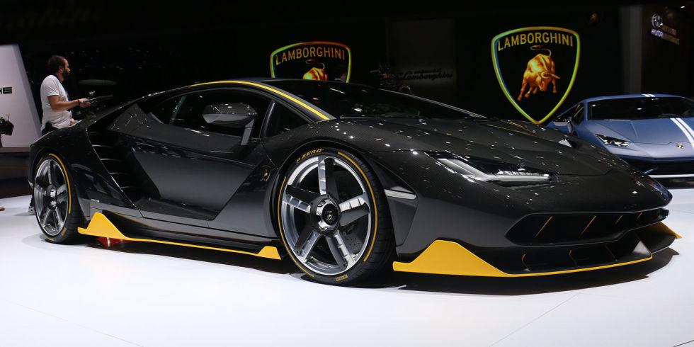 Lamborghini Centenario: test a Nardò
