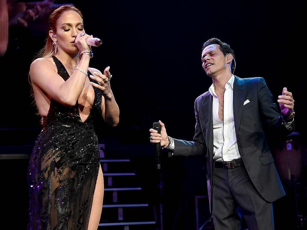 Jennifer Lopez lascia Casper Smart e canta con Marc Anthony