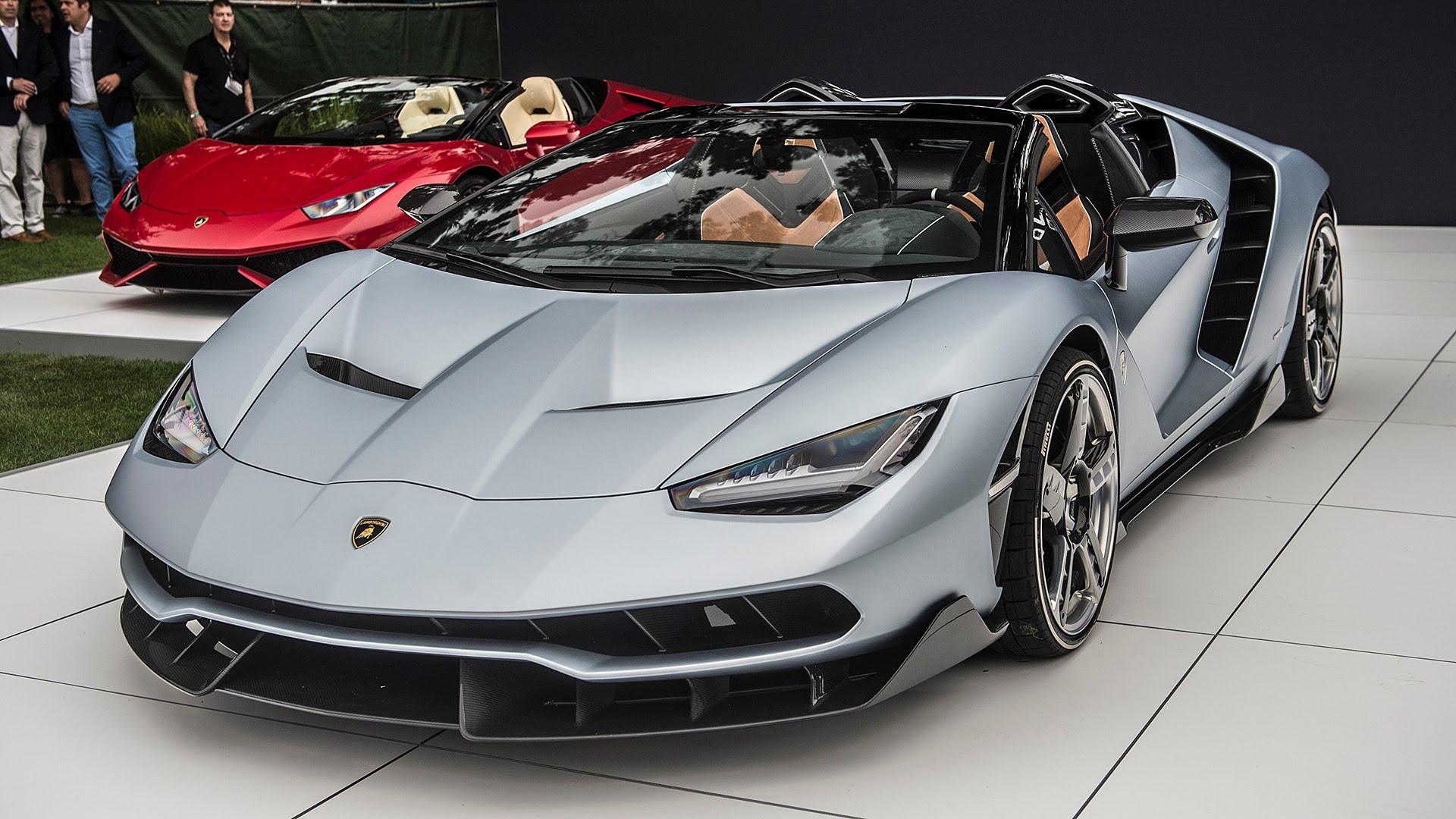 Lamborghini Centenario Roadster conquista gli Usa