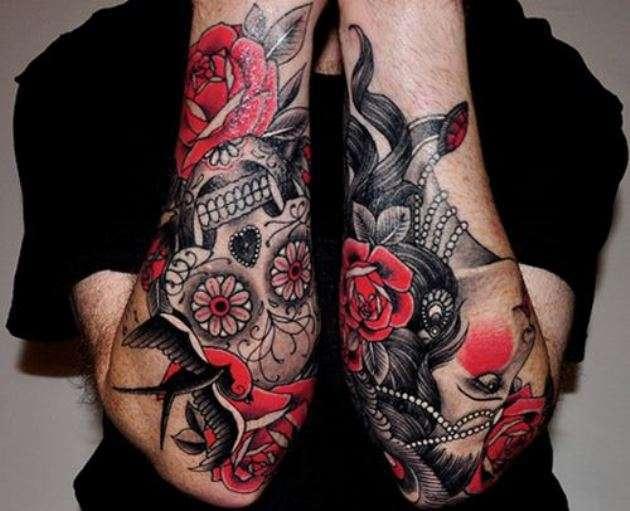 Tatuaggi con coloranti di pessima qualità: rischi per la salute