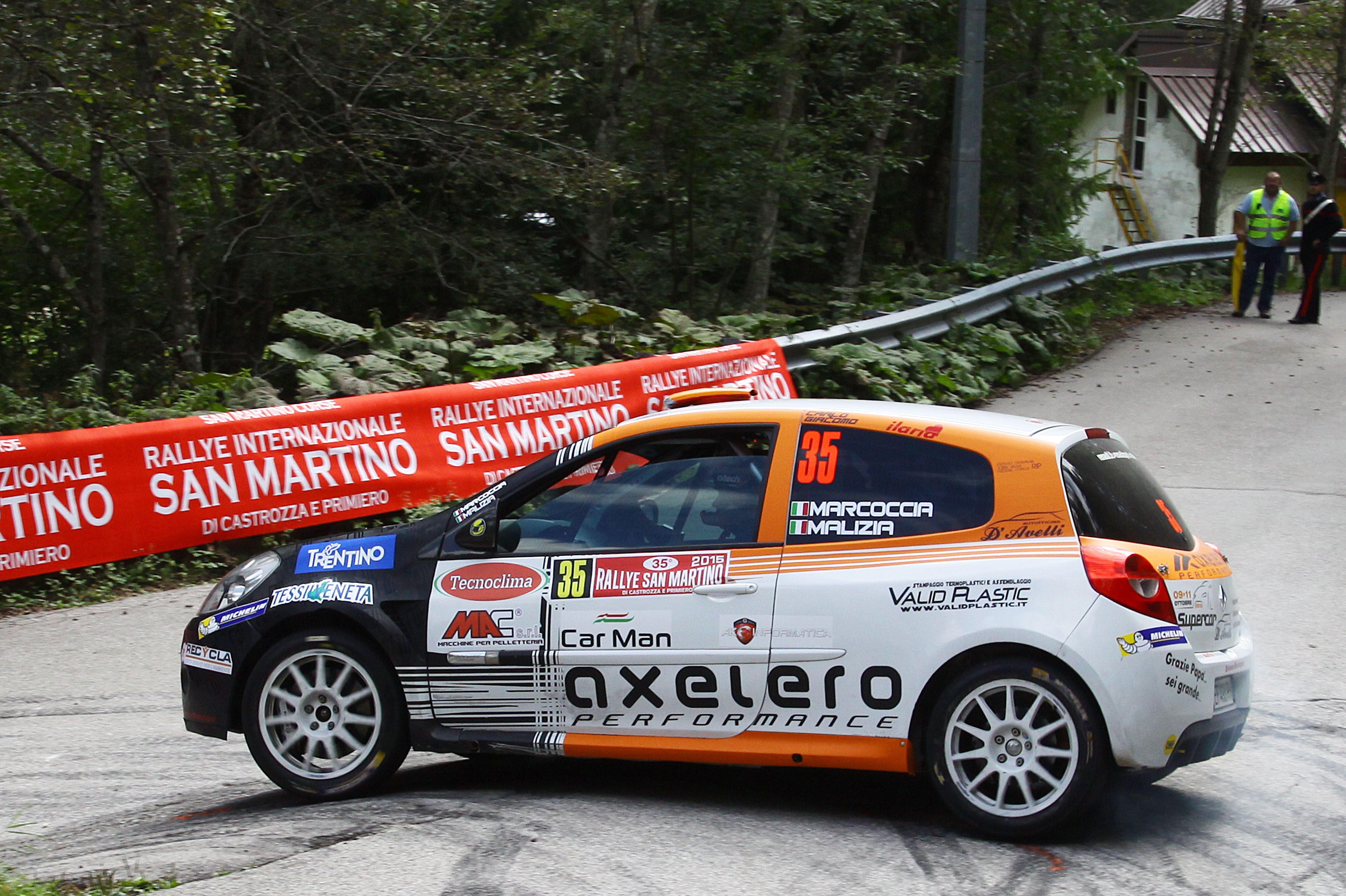 Rally di Pico: BMW investe il pilota e il navigatore