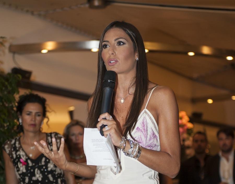Elisabetta Gregoraci sponsor LILT