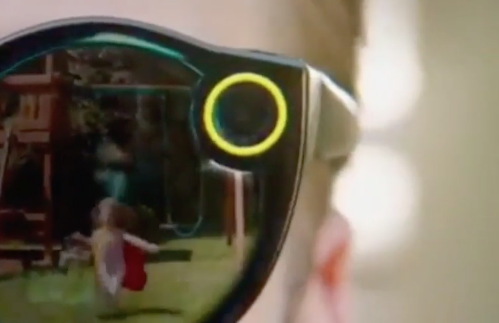 Snapchat Spectacles per registrare video