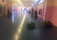 Chivasso vandali scuola media
