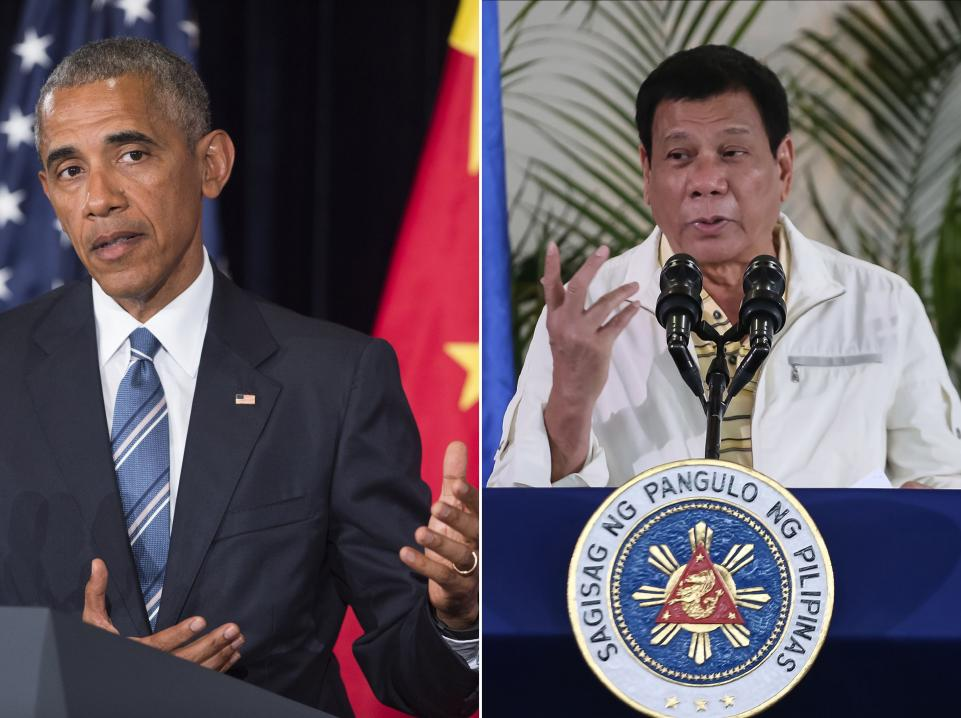 Duterte Obama: insulto presidente delle Filippine indigna Usa