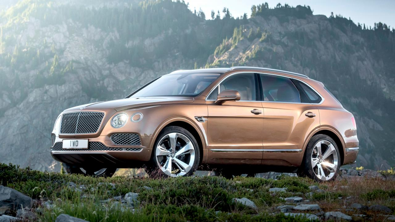 Bentley Bentayga, Suv diesel più veloce del pianeta