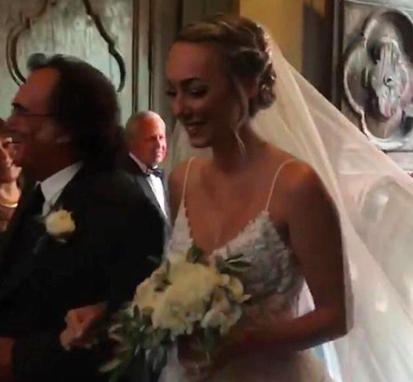 Al Bano e Romina Power al matrimonio di Cristel Carrisi