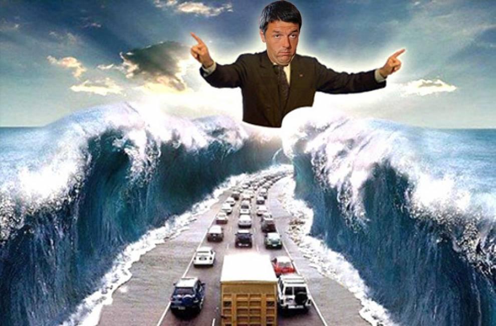Ponte sullo Stretto di Messina Renzi