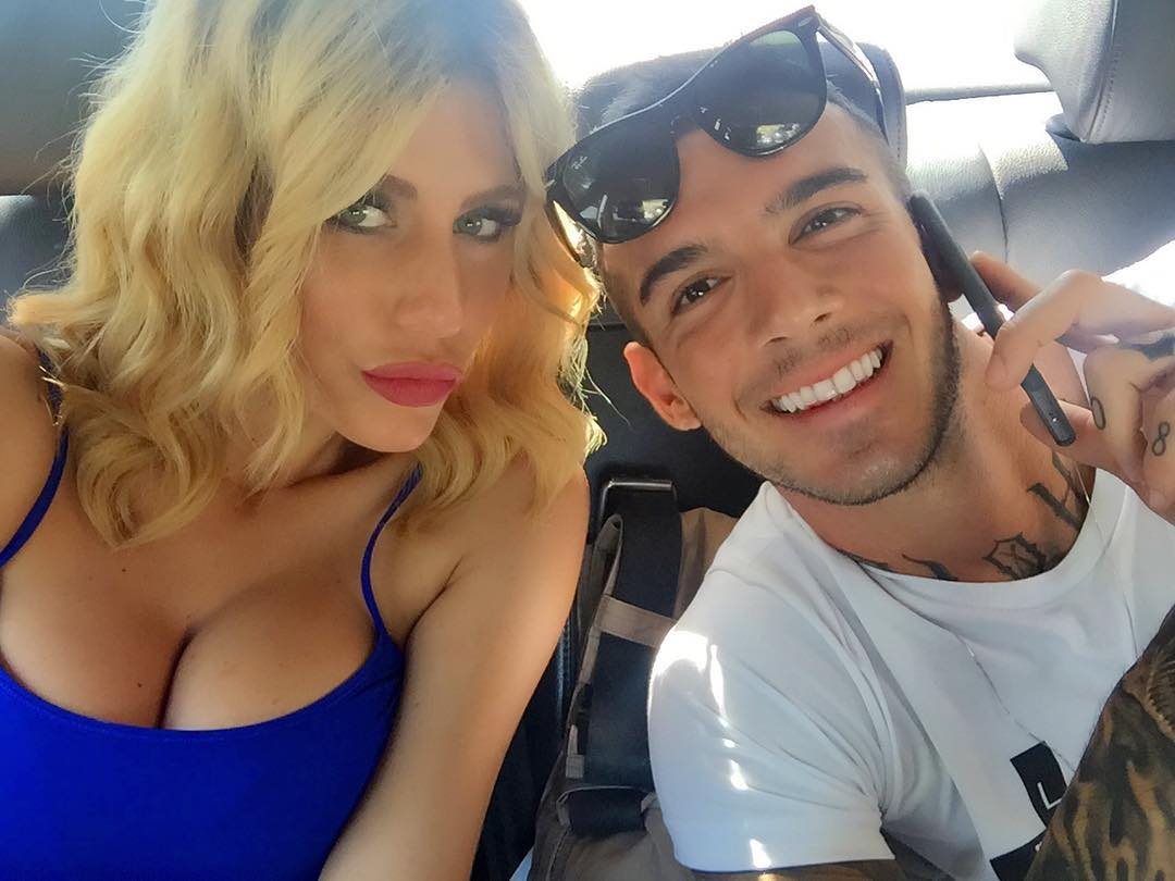 Paola Caruso e Lucas: astio infinito