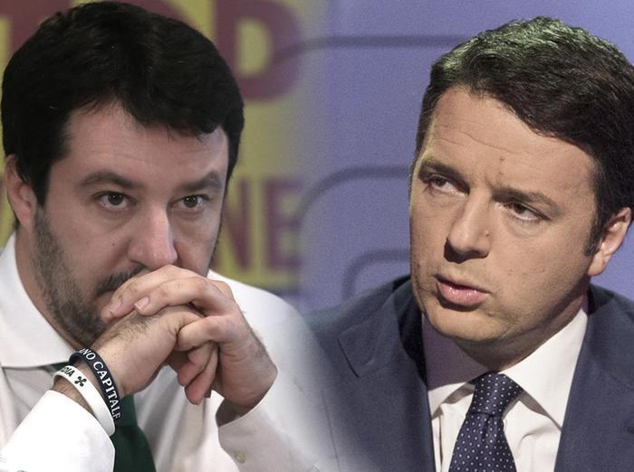Terremoto, Renzi criticato da Salvini