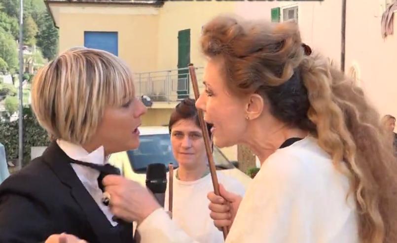 Eleonora Brigliadori Nadia Toffa Le Iene