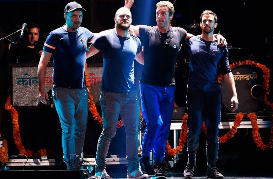 Coldplay tour 2017 Italia