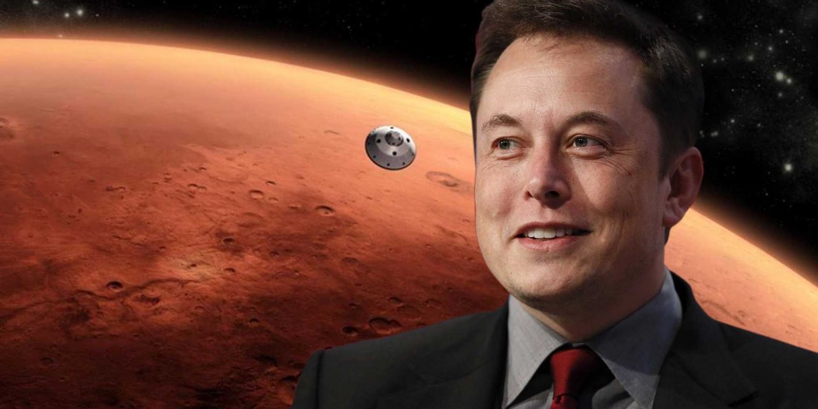 Marte, Elon Musk vuole colonizzarlo