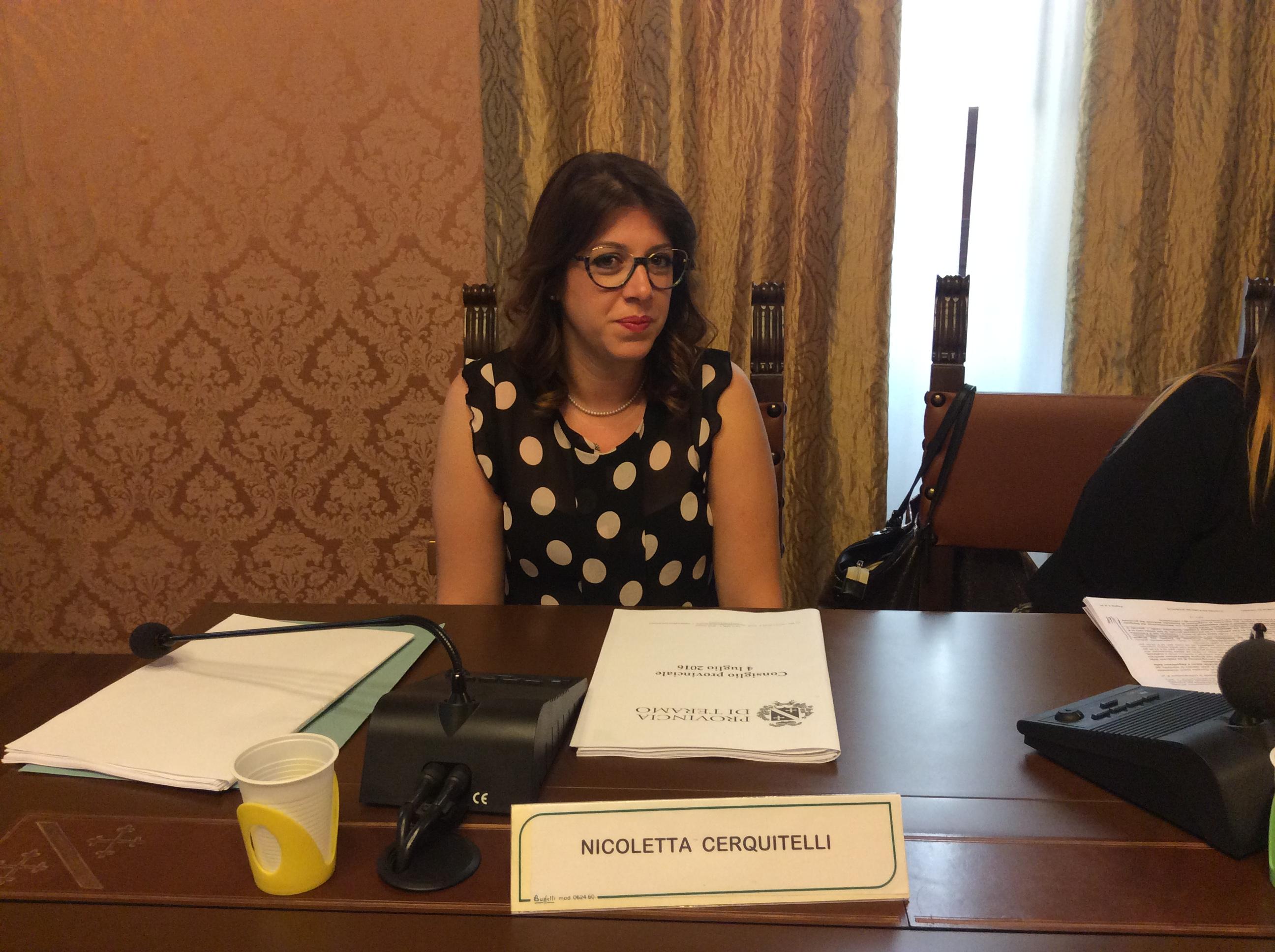 Nicoletta Cerquitelli aneurisma