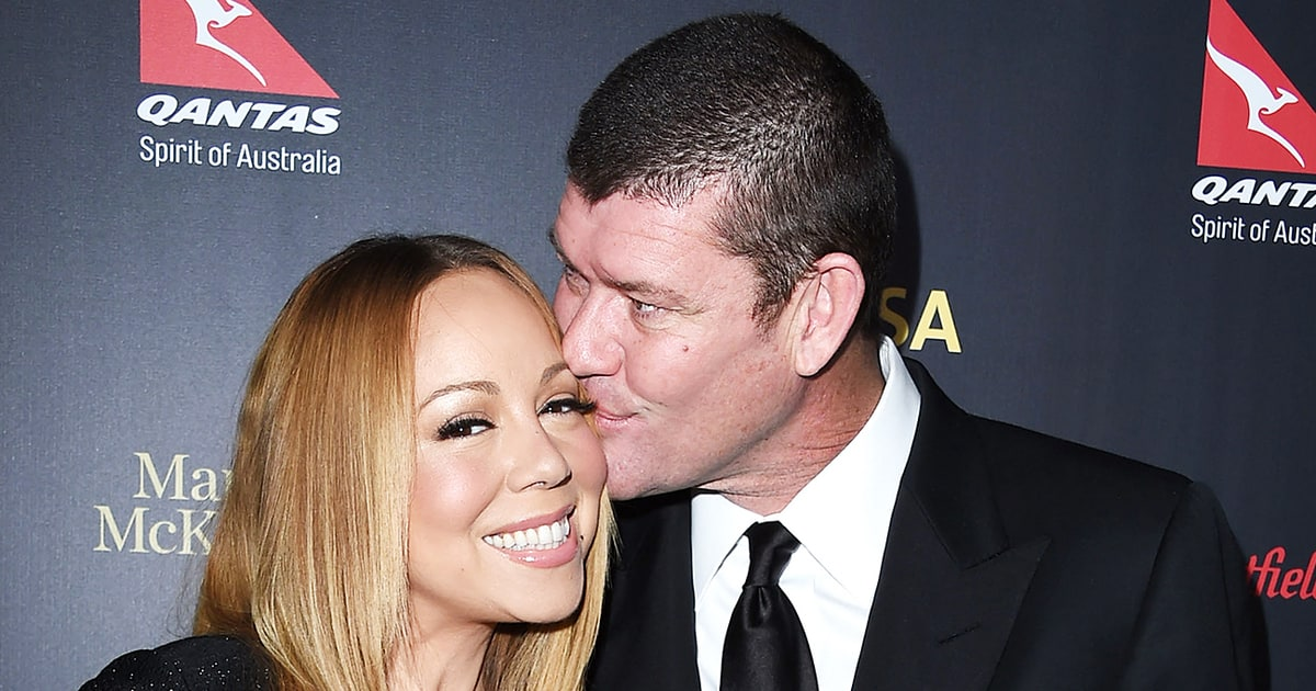 Mariah Carey: addio a James Paker
