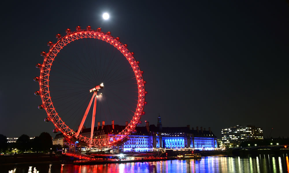 Londra paura sulla London Eye