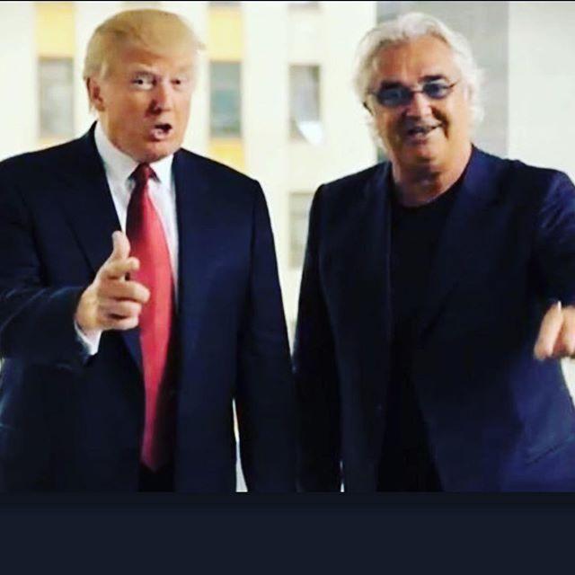 Briatore contento per il trionfo di Trump in America