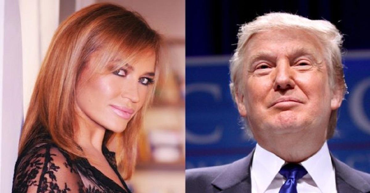 Lory Del Santo parla del mancato flirt con Trump